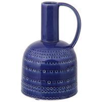 Vaso-Decorativo-26-Cm-Azul-Mediterraneo