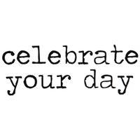 Celebrate-Your-Day-Adesivo-38-Cm-X-20-Cm-Preto-Live-And-Celebrate