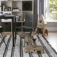 Spa-Arranhador-Natural-preto-Meow