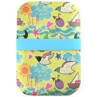 Beach-Porta-refeicao-Cream-multicor-Bento