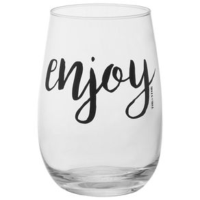 Enjoy-Copo-L-Drink-460-Ml-Incolor-preto-Wish-And-Shout