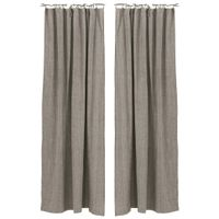 Cortina-2pcs-140-M-X-240-M-Marrom-natural-Itamaraca