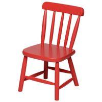 Cadeira-Infantil-Vermelho-Country