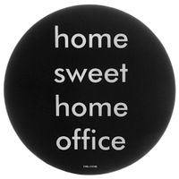 Mouse-Pad-Preto-branco-Sweet-Home-Office