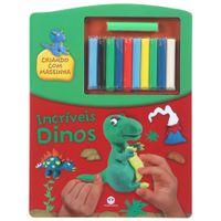 Livro-Incriveis-Dinos-criando-C-massinha-Multicor-Livro-Infantil
