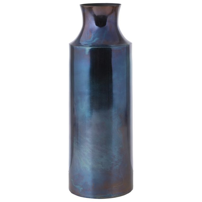Vaso-garrafa-Decorativa-36-Cm-Ultramarine-Profundo-Reativo-Catalyzed
