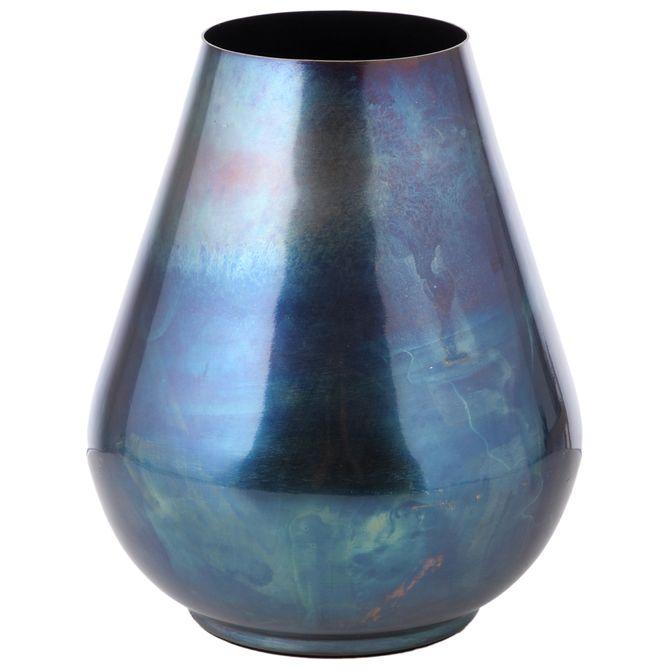 Vaso-Decorativo-18-Cm-Ultramarine-Profundo-Reativo-Catalyzed