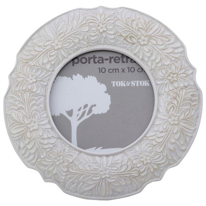 Porta-retrato-10-Cm-X-10-Cm-Branco-Provence-Honfleur