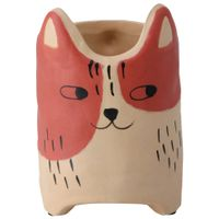 Cutie-Kitty-Vaso-14-Cm-Terracota-bege-Cuttie-Kitty