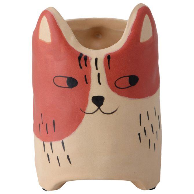 Cutie-Kitty-Vaso-14-Cm-Terracota-bege-Cuttie-Kitty