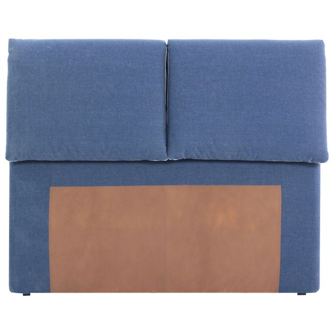 Cabeceira-P-base-Box-Casal-Azul-Jeans-bege-Good-Dreams