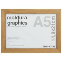 Kit-Moldura-A5-14-Cm-X-21-Cm-Garapa-Graphics