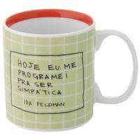 Ida---Ser-Simpatica-Caneca-330-Ml-Verde-Claro-terracota-Reflexoes-Da-Ida-Feldman