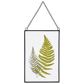 Placa-Decorativa-16-Cm-X-24-Cm-Preto-verde-Arborea