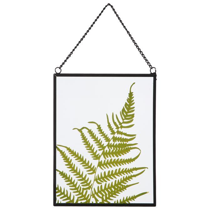 Placa-Decorativa-13-Cm-X-17-Cm-Preto-verde-Arborea