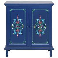 Buffet-2-Portas-90x40-Azul-multicor-Folksy