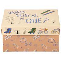 Vamos-Brincar-Cx-31-Cm-X-24-Cm-X-15-Cm-Salmao-multicolor-Vamos-Brincar-De-Que-