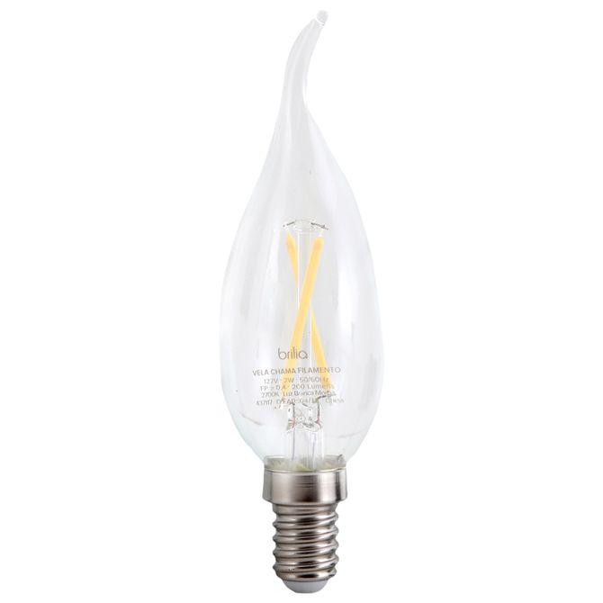 Lamp-Led-Chama-Filam-2w-127v-E14-Incolor-Brilia