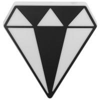 Adorno-Parede-Diamond-Preto-branco-Follow-Your-Dreams