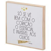 O-P-Principe-Filme-So-Se-Ve-Quadro-21x21-Natural-multicor-O-Pequeno-Principe