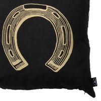 Ferradura-Almofada-45cm-Preto-ouro-Lucky