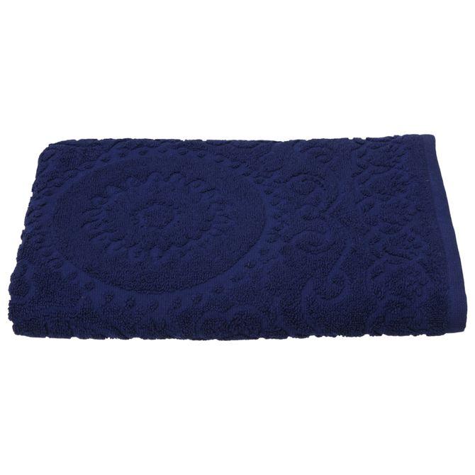 Toalha-Banho-135x70-Azul-Escuro-Folksy