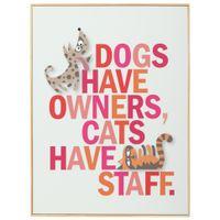 Quadro-31-Cm-X-41-Cm-Natural-multicor-Dogs-X-Cats
