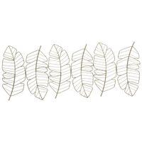 Adorno-Parede-Ouro-Shine-Leaves