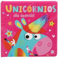 Livro-Unicornios-Sao-Demais-Multicor-Livro-Infantil