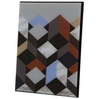 Quadro-30-Cm-X-30-Cm-Multicor-preto-Geometrical