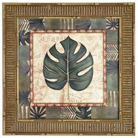 I-Quadro-38-Cm-X-38-Cm-Natural-verde-Tropical-Folhas
