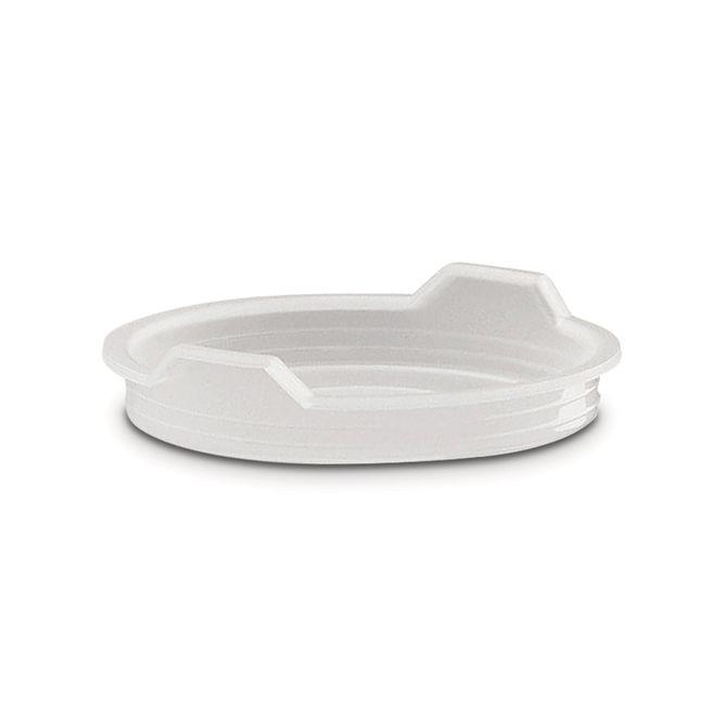 Tampa-De-Plastico--Ø-12cm-Branco-Cucina