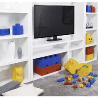 Bloco-Organizador-25-Cm-C-1-Gaveta-Vermelho-Lego