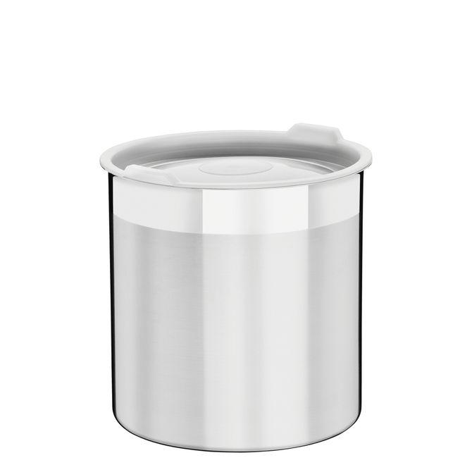 Pote-Tramontina--Em-Aco-Inox-Para-Mantimentos-Com-Tampa-Plastica-12-Cm-15-L-Inox-Cucina