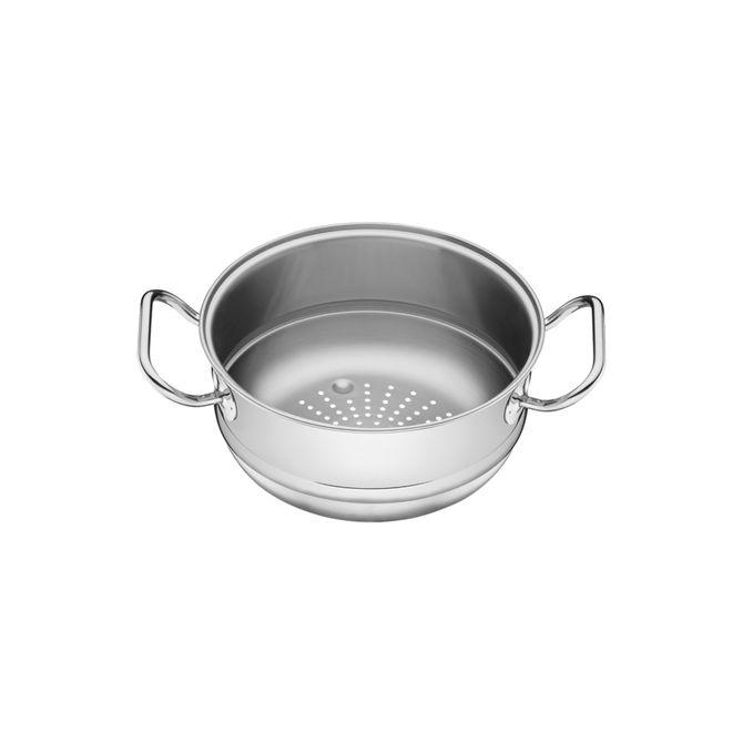 Cozi-vapore-Tramontina-Em-Aco-Inox-Com-Alca-20-Cm-32-L-Inox-Professional