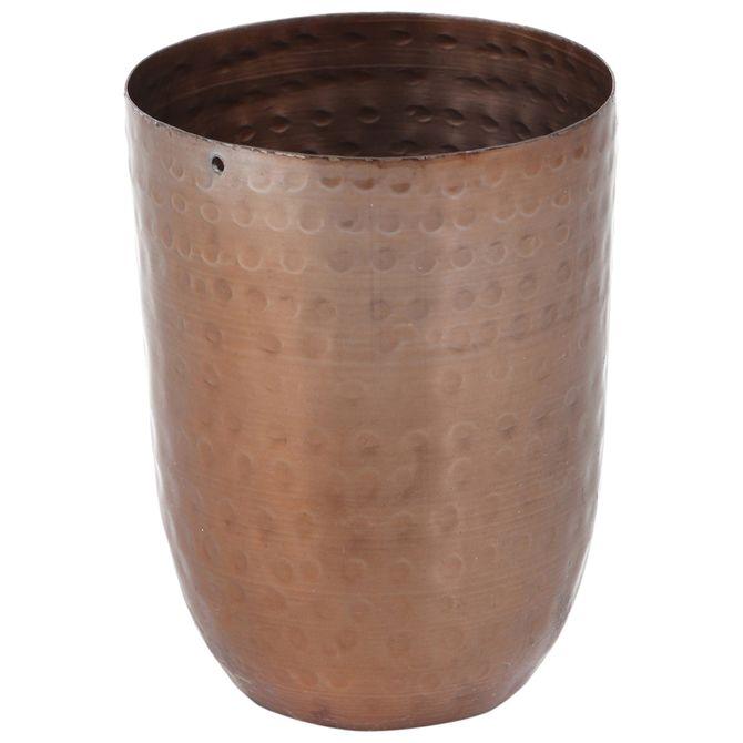 Vaso-Decorativo-Slim-10-Cm-Old-Copper-Agua-De-Coco