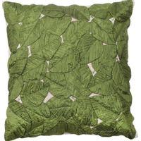 Folhas-Soltas-Almofada-50-Cm-Verde-Escuro-Agua-De-Coco