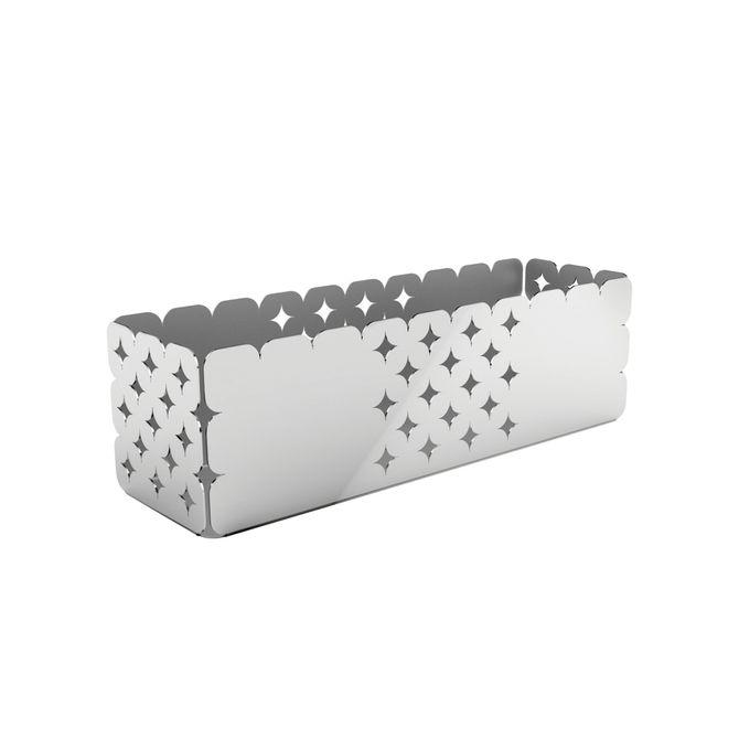 Organizador-Tramontina-Retangular-Em-Aco-Inox-Desenhos-Vazados-25-X-7-Cm-Inox-Luce