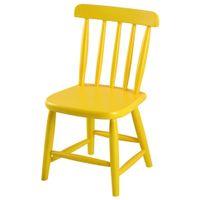 Cadeira-Infantil-Amarelo-Country
