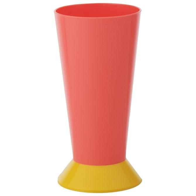 Copo-Long-Drink-400-Ml-Flamingo-banana-Kolore