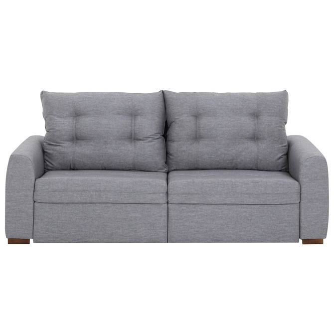 Stitch-Sofa-Retratil-3-Lugares-Poli-Cinza-Doha