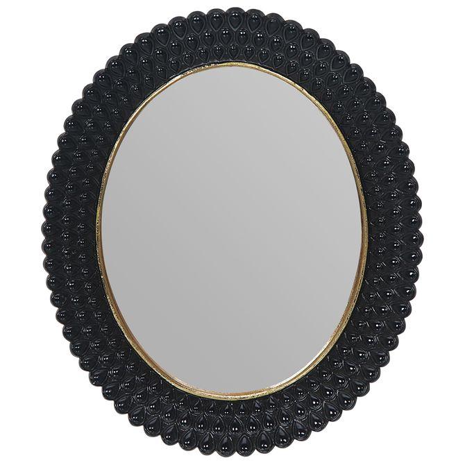 Espelho-Decorativo-27-Cm-X-32-Cm-Preto-ouro-Gallery