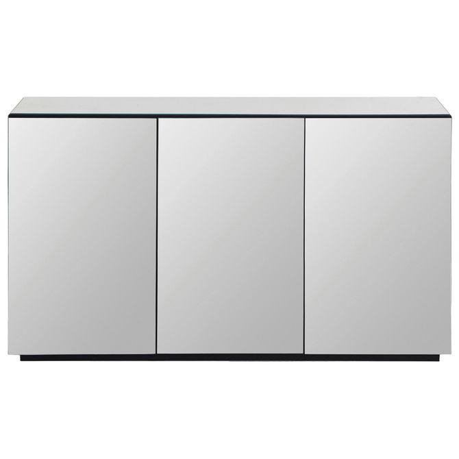 I-Buffet-3-Portas-135x41-Prata-preto-World-in
