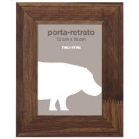 Porta-retrato-13-Cm-X-18-Cm-Castanho-Rustico