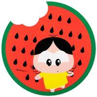 Mouse-Pad-Vermelho-multicor-Magali-Toy