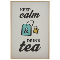 Drink-Tea-Quadro-20-Cm-X-30-Cm-Natural-multicor-Tealex