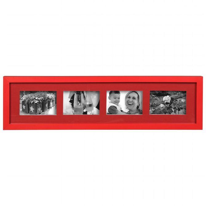 Porta-retrato-Mult-P-4-Vermelho-Family-friends