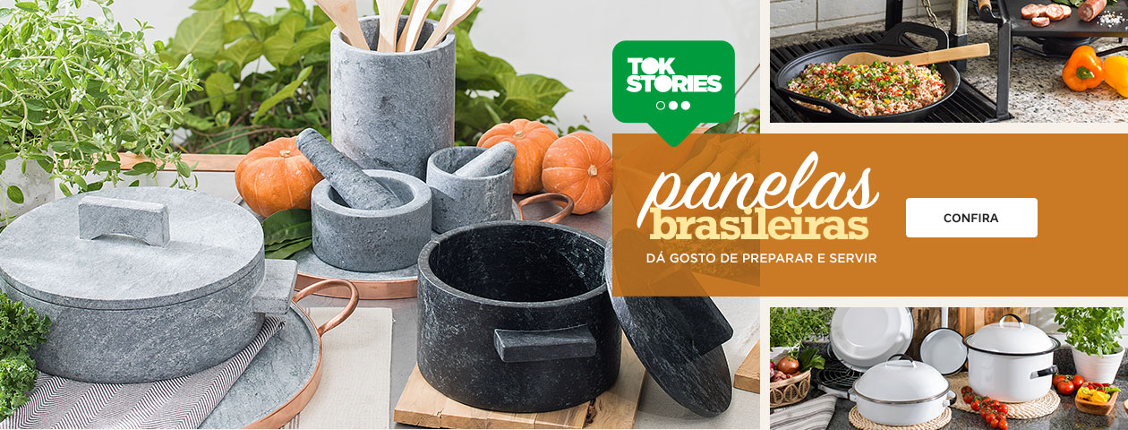 Tok Stories - Panelas Brasileiras