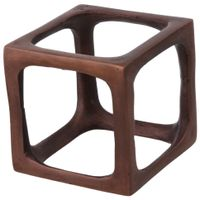 Cube-Adorno-11-Cm-Old-Copper-Metaphysical