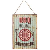 Placa-Decorativa-40-Cm-X-28-Cm-Multicor-Bbq